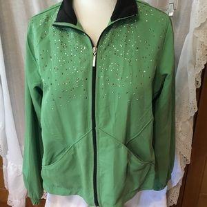 BOGO Ac-tic-ology Women's light jacket PL Green
